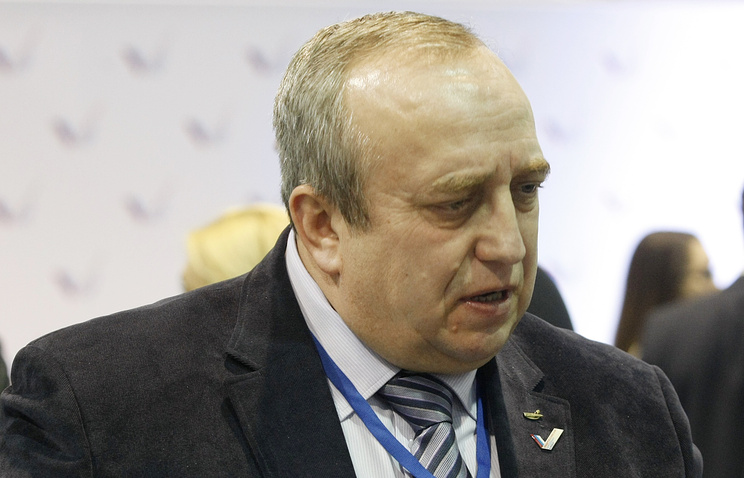 Frants Klintsevich, first deputy chairman of the Russian Federation Council's Defense and Security Committee