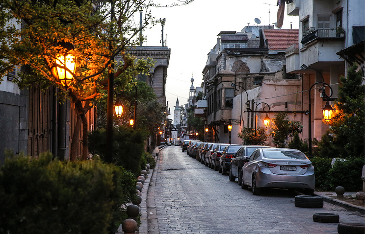 A street in Damascus