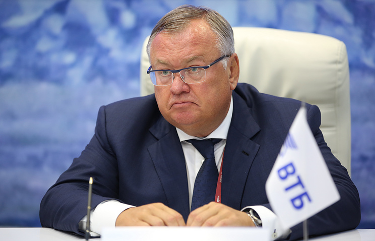 VTB Bank Chief Executive Officer Andrei Kostin