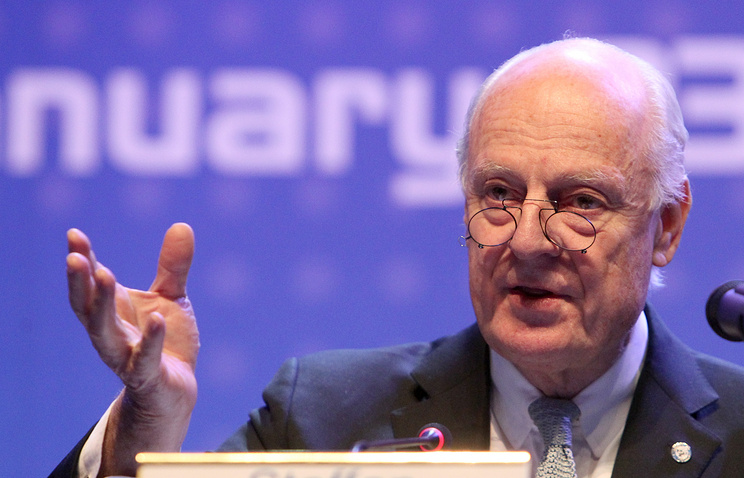 UN Secretary-General's Special Envoy for Syria, Staffan de Mistura