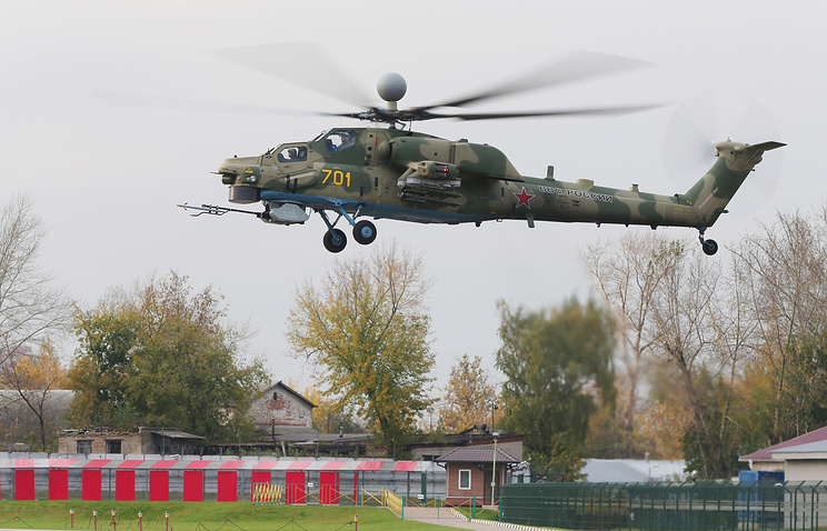 Mi-28NM helicopter