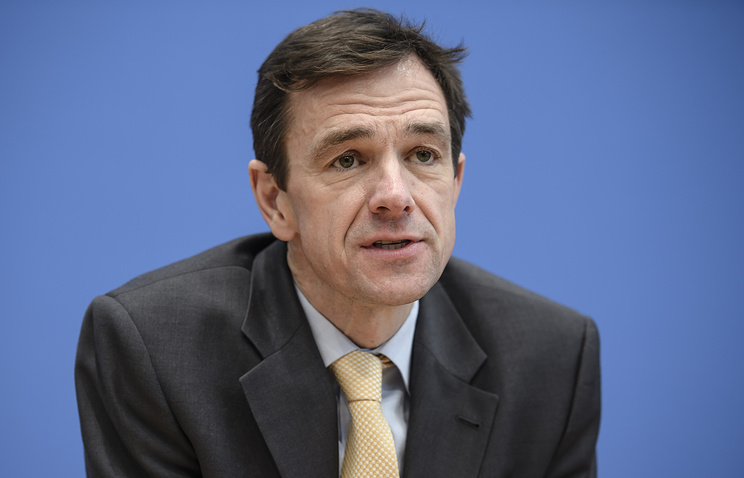 German Foreign Ministry Spokesman Martin Schaefer