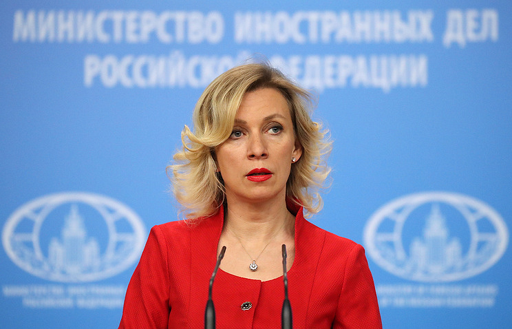 Russian Foreign Ministry's official spokeswoman, Maria Zakharova