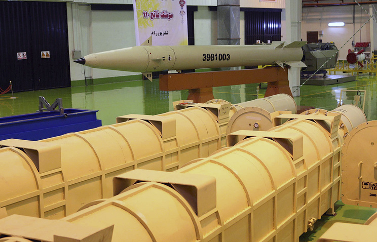 Iran's surface-to-surface missiles