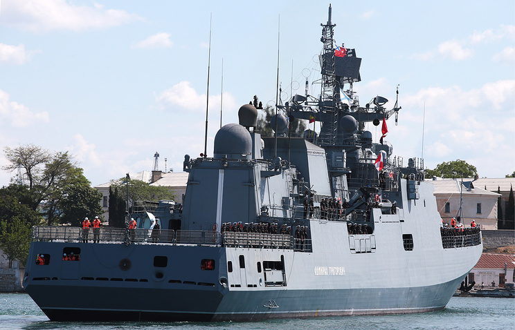 Project 11356 frigate Admiral Grigorovich