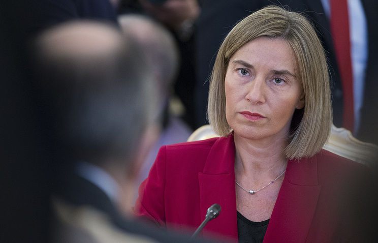 High Representative of the European Union for Foreign Affairs Federica Mogherini