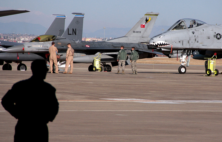Incirlik Air Base near Adana, Turkey