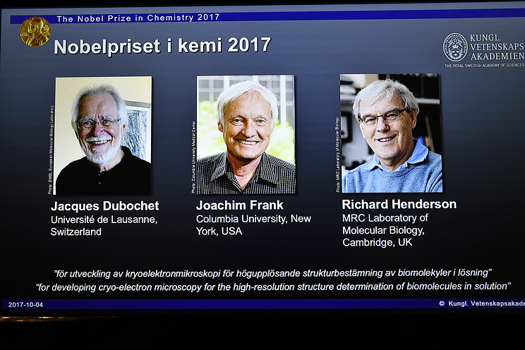 Scientists who developed method to visualize biomolecules win Nobel Prize in chemistry