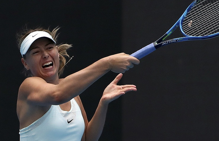 Sharapova out of 2017 VTB Kremlin Cup in Moscow after 1st round
