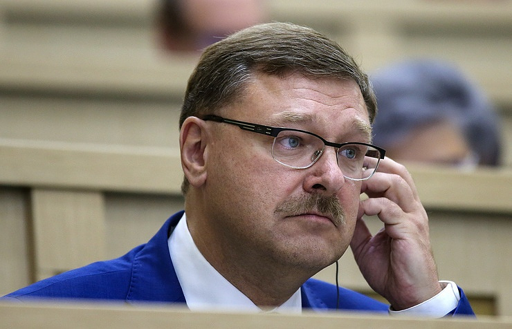 The chairman of the Federation Council Committee on International Affairs, Konstantin Kosachev