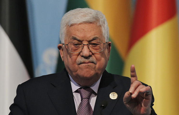 Abbas says Palestinians won't accept any U.S. peace plan