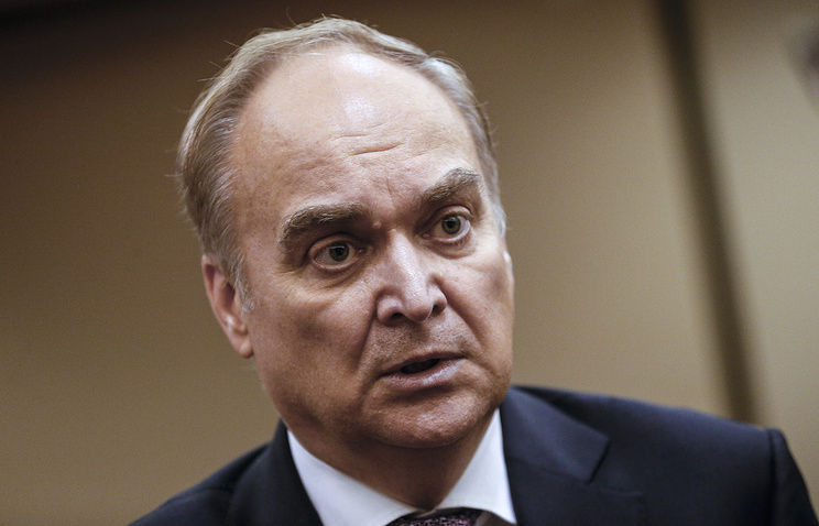 Russian ambassador to Washington Anatoly Antonov