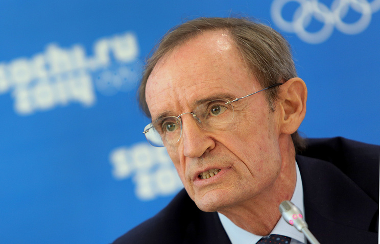 IOC honorary member Jean-Claude Killy
