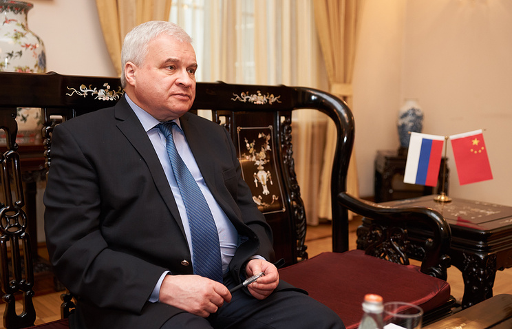 Russian Ambassador to China Andrey Denisov