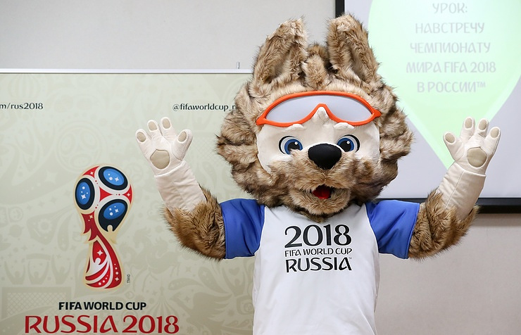 Mascot of the 2018 FIFA World Cup in Russia