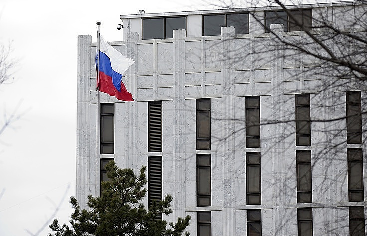 Russian Embassy building in Washington D.C.