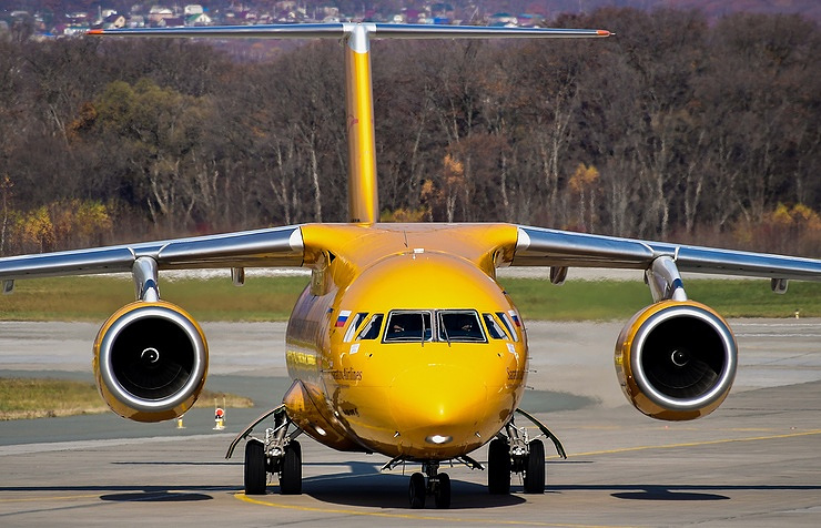 Saratov Airlines An-148 jet