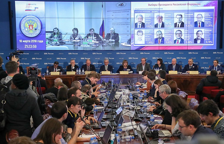 Russian Federation: leaders on President Putin victory