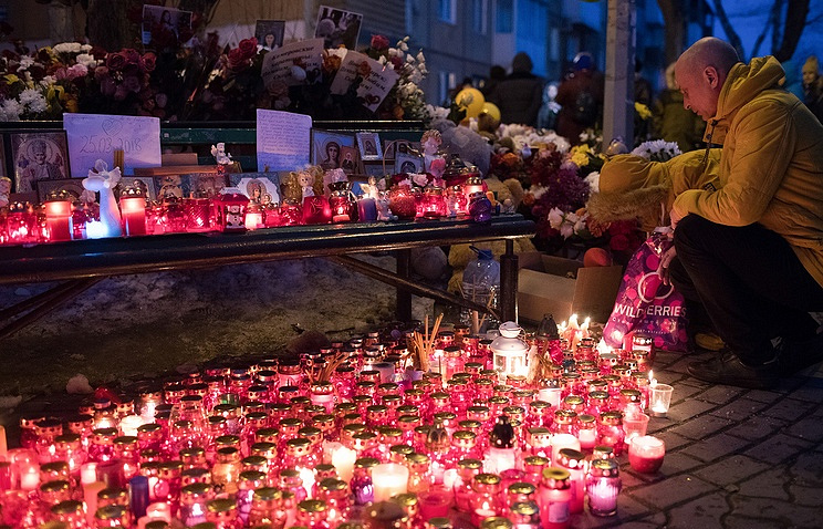 Funerals for Russian Federation mall fire victims as many seek answers