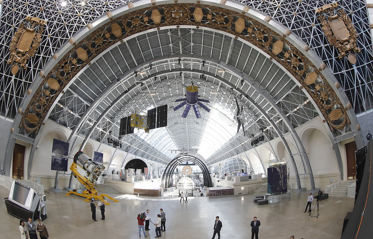 Space pavilion at the VDNKh exhibition center