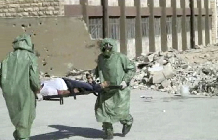 Proof of Syria chemical weapons attack