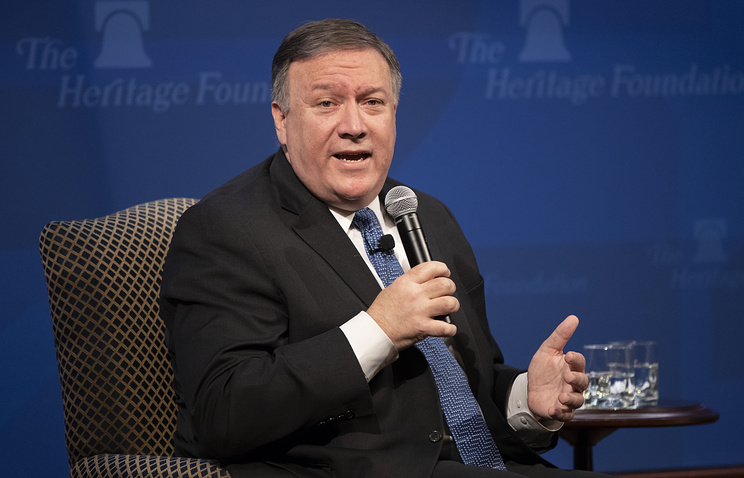 Pompeo Vows 'Unprecedented' US Sanctions Against Iran