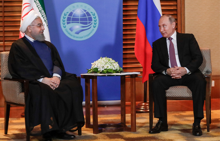 Rouhani grateful to Putin for supporting Iran's accession to Shanghai security bloc