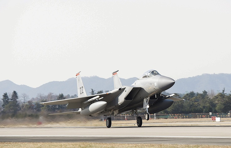 US F-15 fighter jet crashes near Japan's Okinawa - Kyodo