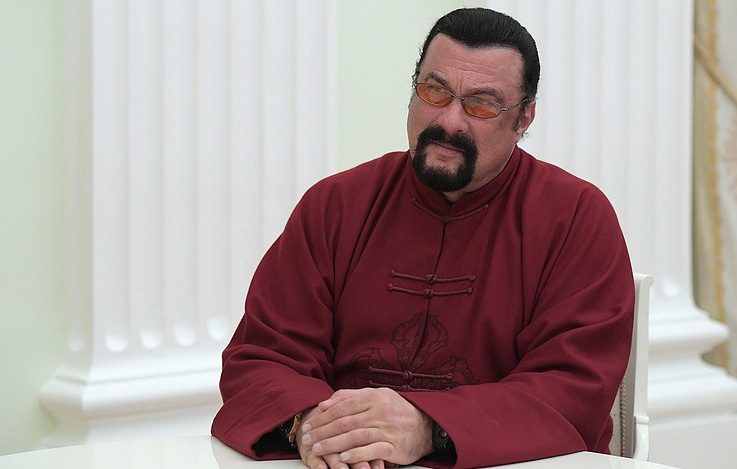 Steven Seagal: 'Deeply humbled' to be appointed 'special representative' by Russian Federation