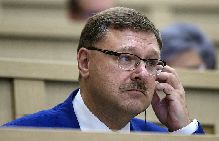 onstantin Kosachev, the chair of the Russian Federation Council's Foreign Affairs Committee