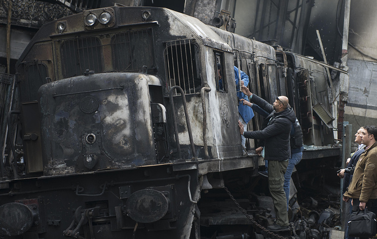 At Least 25 Killed Killed in Fiery Cairo Train Crash