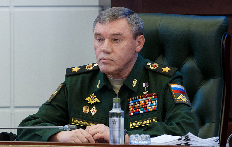 Russia's First Deputy Defense Minister and Chief of the General Staff Valery Gerasimov