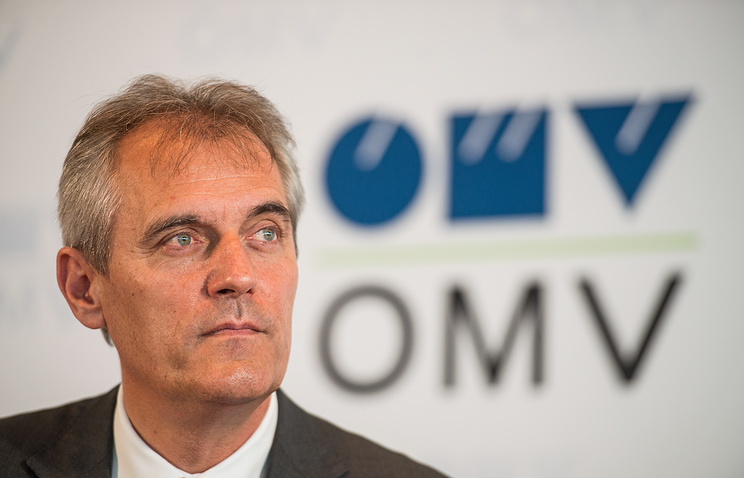 Chief Executive Officer of Austrian oil and gas company OMV AG, Rainer Seele