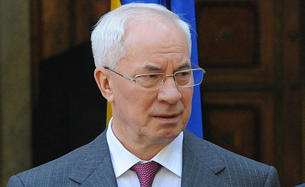 Nikolai Azarov, Photo ITAR-TASS