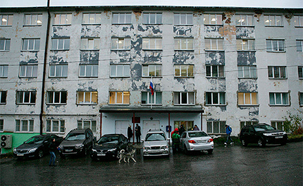Leninsky Court in Murmansk, Photo EPA/IGOR PODGORNY/GREENPEACE INTERNATIONAL