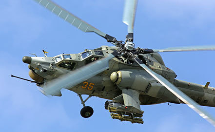Mi-28 gunship. Photo ITAR-TASS/ Marine Lystseva