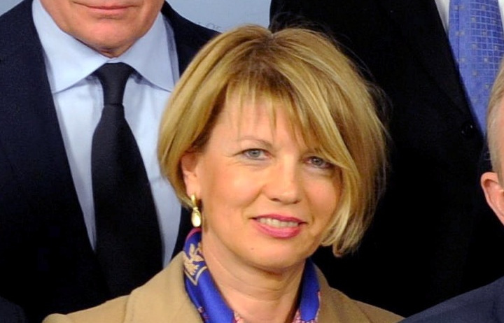 EU High Representative for Foreign Affairs and Security Policy Helga Schmidt