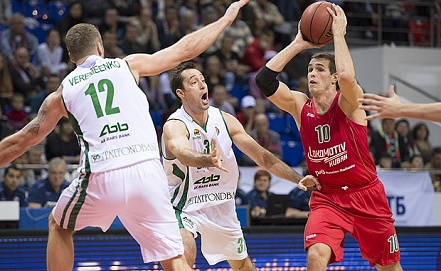 "Матч ""Локомотив-Кубань"" - УНИКС. vtb-league.com"