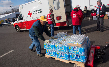 Фото EPA/ AMERICAN RED CROSS/ИТАР-ТАСС