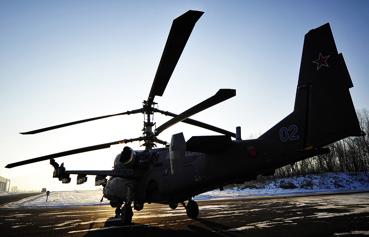 Ka-52 combat helicopter (archive)