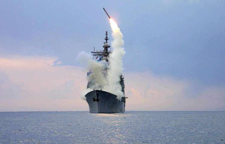 US Navy Tomahawk Land Attack Missile being launched (archive)