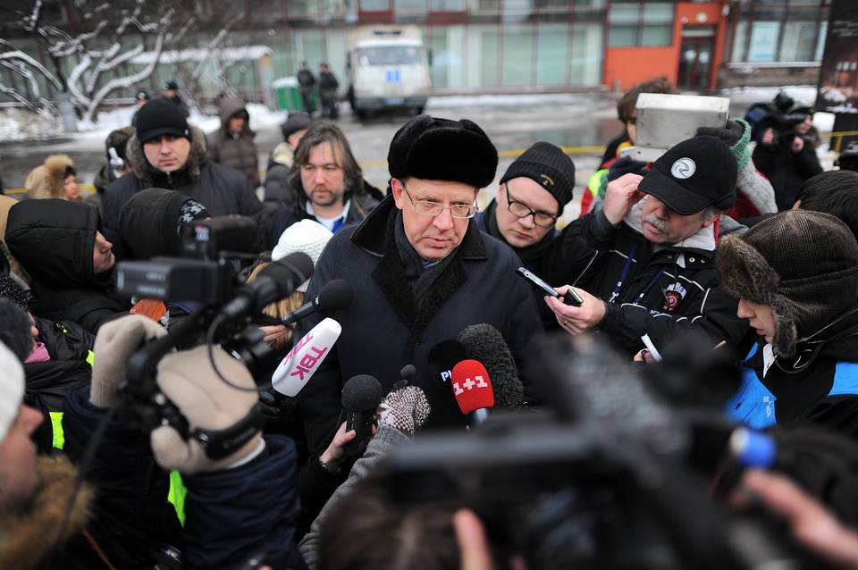 Alexei Kudrin is seen during opposition rally in central Moscow, 2011 Mitya Aleshkovsky/TASS